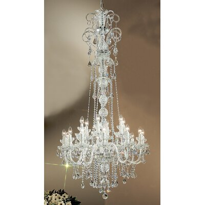 Classic Lighting Bohemia 18 Light Chandelier