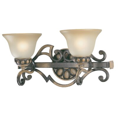 Classic Lighting Westchester 2 Light Bath Vanity Light
