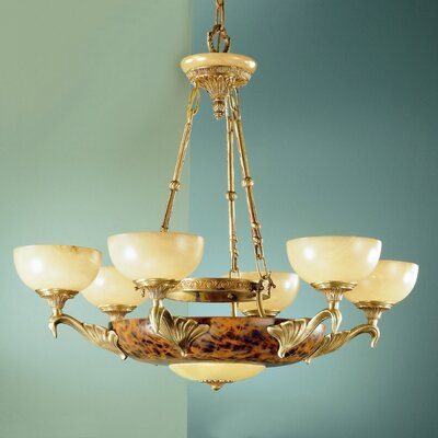 Queen Anne I 8 Light Chandelier
