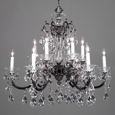 Classic Lighting Via Lombardi 12 Light Chandelier