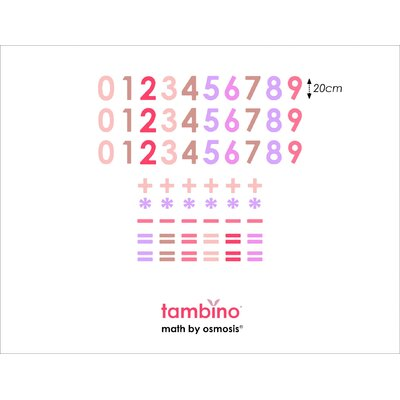 Tambino Math by Osmosis Wall Stickers