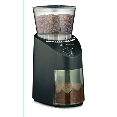 Capresso Infinity Conical Burr Grinder in Black