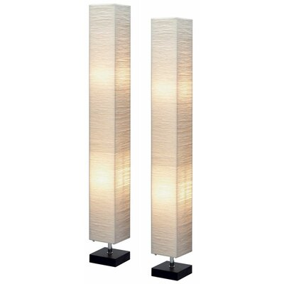 Aspire Isa Square Floor Lamp (Set of 2)