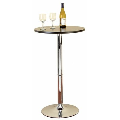 Aspire Round Chrome Pub Table