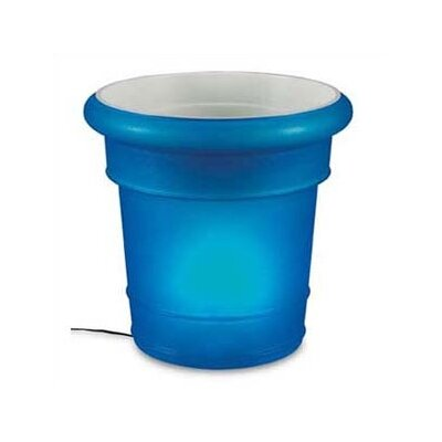 Patio Living Concepts GardenGlo Iluminated Fluorescent Round Planter
