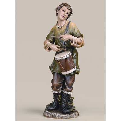 "Roman, Inc. 27"" Scale Colored Drummer Boy Figurine"