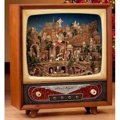 Roman, Inc. Life Size Nativity TV