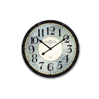 Ashton Sutton Colorado Classic Wall Clock