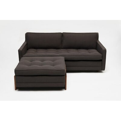 ARTLESS UP Two Seater with Ottoman in Graphite