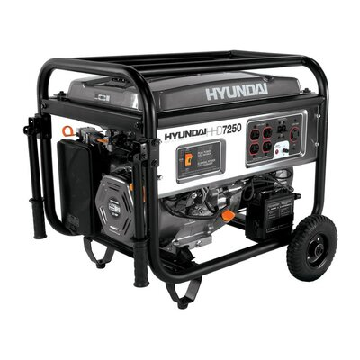 7,250 Watt Portable Heavy Duty Power Generator - HHD7250Ca