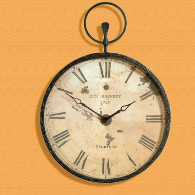 Bassett Mirror Papa's Pocket Watch - Forged Bronze