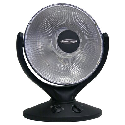 Soleus Air 800 Watt Compact Parabolic Reflective Space Heater