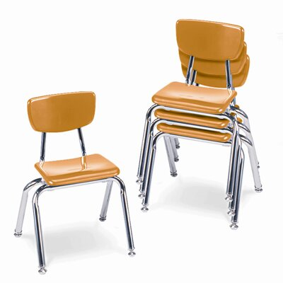 "Virco 3000 Series 14"" Plastic Classroom Stackable Chair"