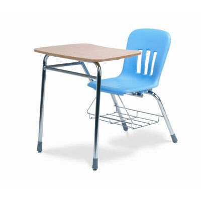 "Virco Metaphor Series 31"" Plastic Combo Chair Desk"