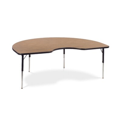 Virco 4000 Series Activity Table with 72&quot; Kidney Shaped Top