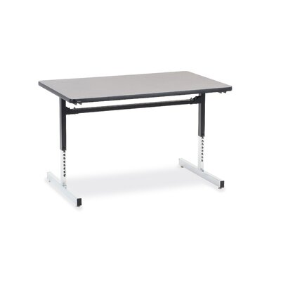 Virco 8700 Series Computer Table with 30&quot; x 48&quot; Top