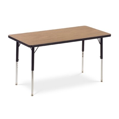 "Virco 4000 Series Activity Table with 24"" x 48"" Top"