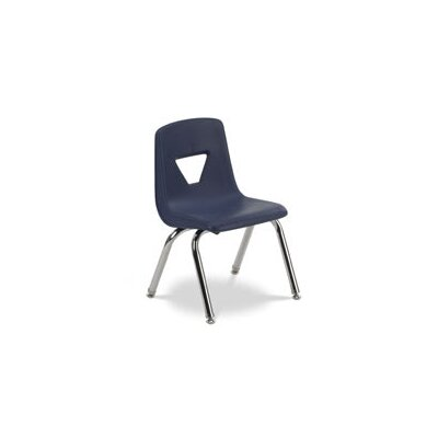 "Virco 2000 Series 12.25"" Polypropylene Classroom Stacking Chair"