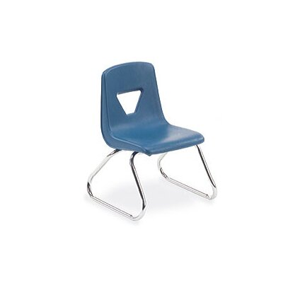 Virco 2000 Series 12&quot; Polypropylene Classroom Sled Stacking Chair
