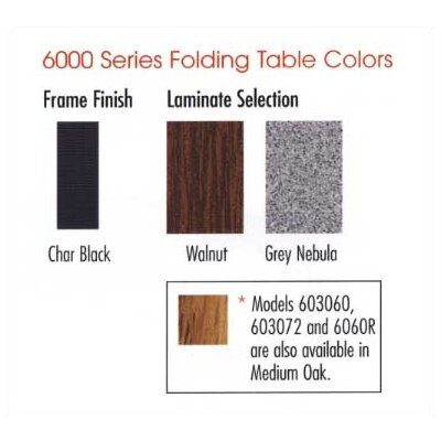 "Virco 6000 Series Folding Table (24"" x 60"")"