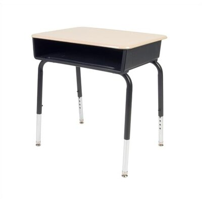 Virco Student Desk with Open Front Plastic Desk
