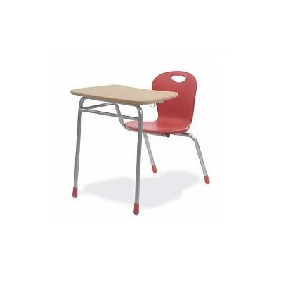 "Virco Zuma 32.5"" Plastic Combo Chair Desk"
