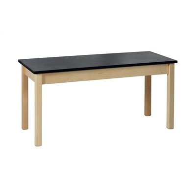 Virco Chemsurf Laminate Black Top Science Table (48&quot; x 24&quot;)