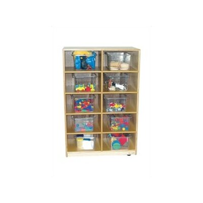 Virco Early Childhood Tote Tray Cabinet