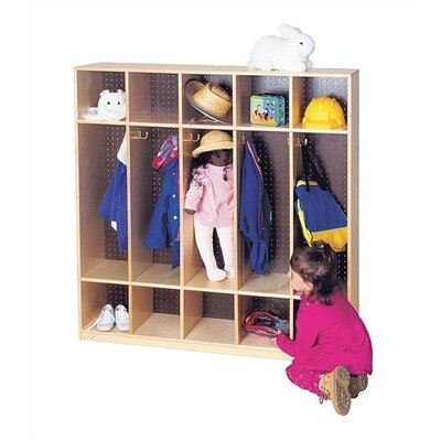 Virco 5-Section Locker (48&quot; x 48&quot;)