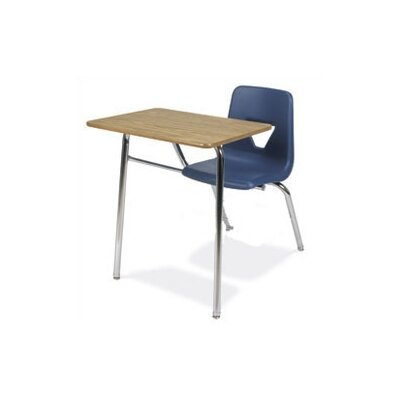"Virco 2000 Series 31"" Laminate Combo Chair Desk"