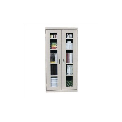 Virco View-Through Storage Cabinet with 4 Adjustable Shelves