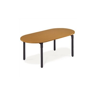 Virco Race Track Plateau Table - 29&quot; High