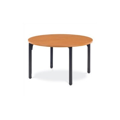 "Virco Round Plateau Table - 29"" High"