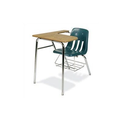 Virco 9000 Series 30&quot; Plastic Combo Chair Desk