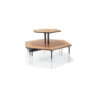 "Virco 2-Single Technology Tables Ganged Together (84"" x 96"")"