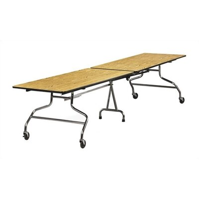 Virco Rectangular Mobile Duofold Table