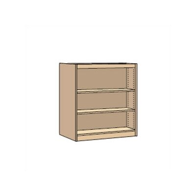 "Virco Double-Faced Starter Library Shelving (42"" x 37"")"
