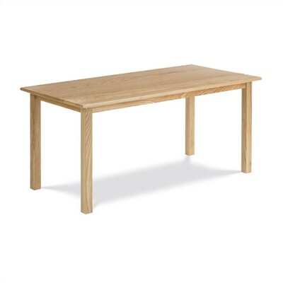 "Virco Children's Hardwood Table with 22"" Legs (24"" x 48"")"