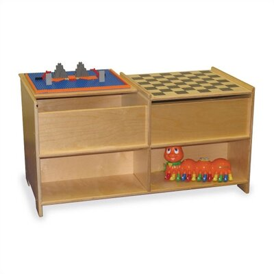 Virco Early Childhood Build-N-Play Table