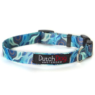 Dutch Dog Amsterdam Nature by Susan Melrath Fashion Dog Collar