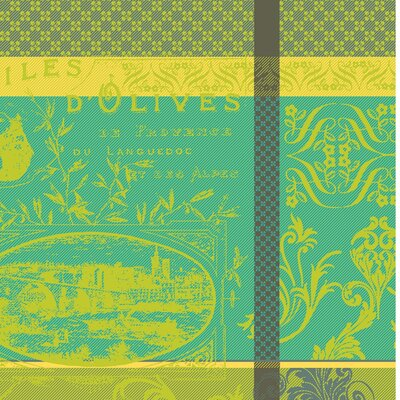 Huile D'Olive and Vignoble Table Linen