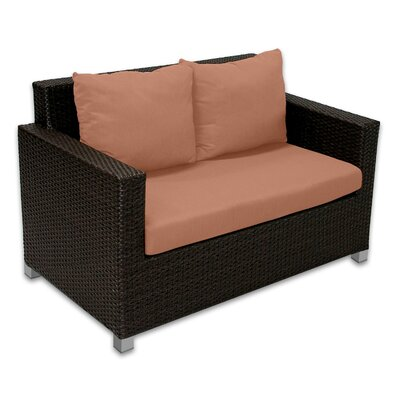Patio Heaven Skye Venice Loveseat with Cushions
