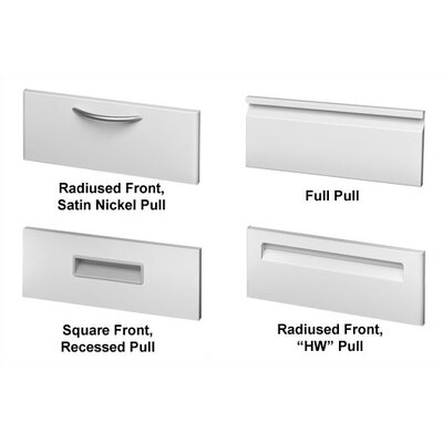 "Great Openings 12"" Receding Door Lateral File with Two Roll-Out Shelves"
