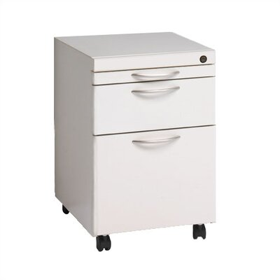 Great Openings Mobile Pedestal with Pencil, Box, and File Drawers