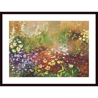 Barewalls Meadow Garden V Wood Framed Art Print