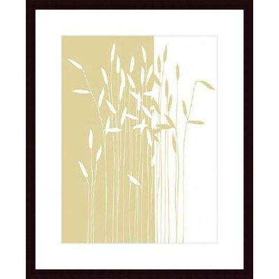 Barewalls Reeds I Wood Framed Art Print