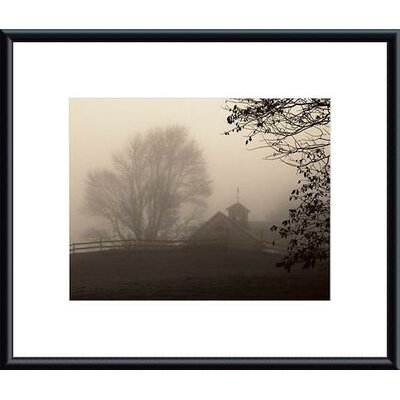 Barewalls Parish Hill Barn Metal Framed Art Print