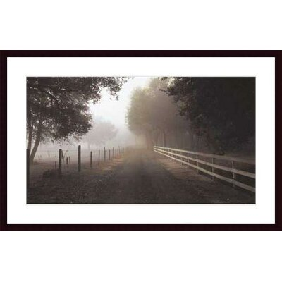 Barewalls The Journey by P.T. Turk Wood Framed Art Print