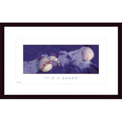 It's a Goner by Don Marquess Wood Framed Art Print