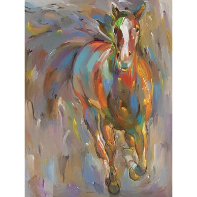 Blaze Gallery Wrapped Canvas Art